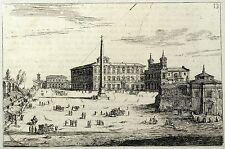 ROM / ROMA - Lateransplatz - Cornelis Meyer - Kupferstich 1683
