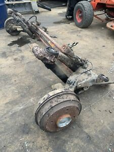 PEUGEOT 206 Rear Axle beam assembly 2001-2006 Drum brake Without ABS.