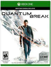 XBOX ONE QUANTUM BREAK BRAND NEW VIDEO GAME