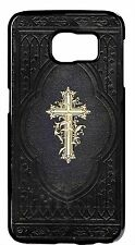 Cross on Bible Christian Catholic Back Skin Case Cover For Samsung Galaxy Note 4