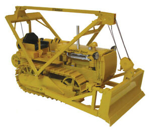 Caterpillar D4 ,2T Crawler with LeTourneau push blade & Hyster Winch