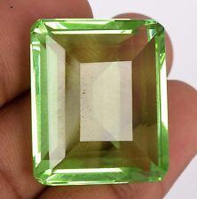 Emerald Cut Green Amethyst February Birthstone 67.95 Ct. Loose Gemstone BP-233