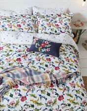 Joules Home Cambridge Floral Set Duvet Cover And Matching Oxford Pillowcases