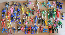 Lot of 60 POWER RANGERS small figures