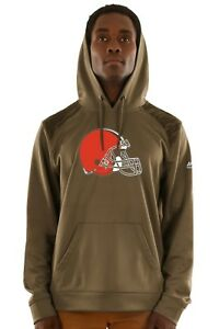 """Cleveland Browns Majestic NFL """"Armor 3"""" Men's Pullover Hooded Sweatshirt"""
