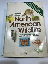 North American Wildlife—1982—Hardcover Readers Digest HCDJ—THE GREAT OUTDOORS