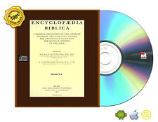 Encyclopaedia Biblica : a critical dictionary of the literary, political BooksCD