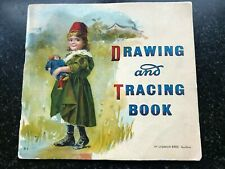 """Drawing and Tracing Book"" Amusement for Little Children 1898 McLoughlin Bros."