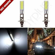 2x H1 12V CREE LED Headlight High Beam Low Beam Light SMD Bulbs Vehicle Lamp