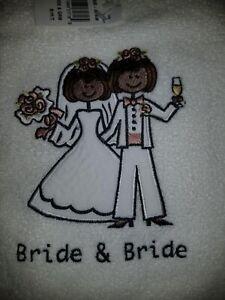 Bride & Bride Avanti embroidered Towels