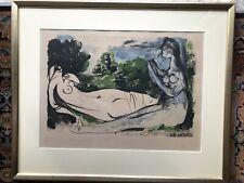 Lithographie Pablo Picasso signiert Handcoloriert 448/2000