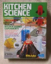 KITCHEN SCIENCE 4M Kidz Labs 3806M Toysmith 6 Experiments NEW Sealed Homeschool