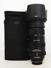 # Sigma DG 50-500mm f/4.5-6.3 OS HSM DG Lens For Nikon S/N 11861440