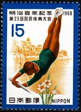JAPAN 1968 Sport: 23rd National Athletics Meet. Gymnastics, MNH