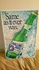 rolling rock same as it ever was tin sign.free shipping