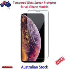 Tempered Glass Screen Protector iPhone 11 X XS XR 8 7 6S 6 Plus SE 5S 5C 5 4S 4