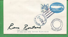 RENO BERTOLIA Signed Cover 1986 Detroit Tigers 3rd Base - B0795