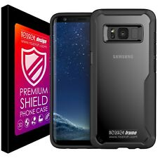 Cover Case Silicone Samsung S8+ Plus Premium Bumper Noziroh Frame 3D Shockproof