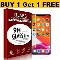 For iPhone 11, 12 Pro Max iPhone XR X XS SE 7 8 6 Gorilla Glass Screen Protector