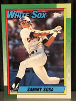 1990 Topps Sammy Sosa Baseball Card Chicago White Sox #692 MLB Rookie RC HR Mint