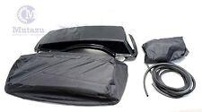 Mutazu 6 x 9 Speaker Lids Harley Touring Saddlebags 1B with waterproof covers