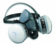 Reusable Paint Spray Pesticide Respirator Pack Medium Mask Cartridge Filters