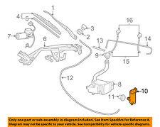 Pontiac GM OEM 2004 GTO Wiper Washer-Windshield-Washer Pump 89001112