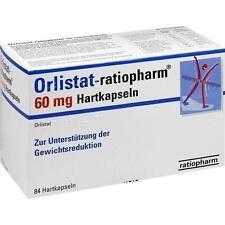 ORLISTAT ratiopharm 60 mg Hartkapseln 84St 8845406