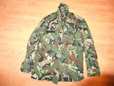 Camouflage Shirt Bulgarian Army Uniform  with Emblems Green Forest Pattern