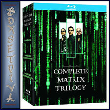 THE MATRIX TRILOGY - Reloaded - Revolutions *BRAND NEW BLU-RAY BOXSET*