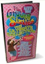 GROOVY SIXTIES-ULTIMATE 60S COLLECTION VOL 2!  COMPLETE RARE 4-CD WOODEN BOX SET