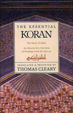 THE ESSENTIAL KORAN: THE HEART OF ISLAM (HARD COVER) NEW, FREE POST+TRACKING