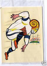 Los Angeles LA L.A. Rams sealed vintage sticker decal 1969 - St. Louis
