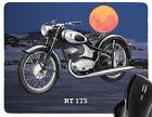 Tapis De Souris Avec Moto motif : DKW modèle REPOSE-POIGNETS vélo biker