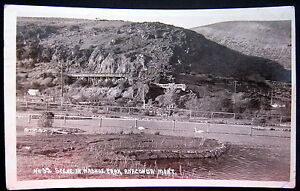 ANACONDA Montana ~ 1923 SCENE IN WASHOE PARK~ HIGHWAY ~ Real Photo PC  RPPC