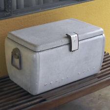Vintage Pepsi Cola picnic cooler original soda pop beer chest aluminum airstream