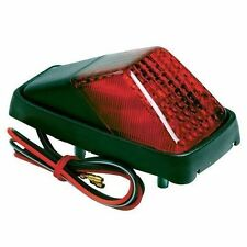 NEW COMPACT REAR FENDER MUDGUARD TAIL LIGHT MOTOCROSS UNIVERSAL FIT MOTORCYCLE