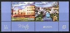 Bosnia / Mostar 2012 Europa CEPT Visit Architecture set of 2 MNH**