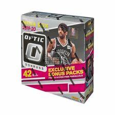 2 Factory Sealed 2019-20 Panini Optic Basketball Mega Boxes - Look for Zion & JA