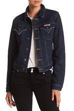 NEW $189 NWT HUDSON Jeans Signature Jean Jacket Bail Out SZ L Women's