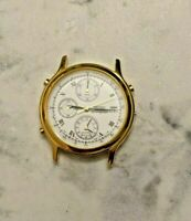 Seiko 7T32-6A50 Stainless Steel Chronograph/Alarm Men's Watch (For Parts)