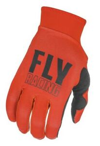 Fly Racing Motocross Gloves 2021 Pro Lite Red Black XL New
