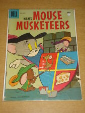 MOUSE MUSKETEERS #9 VG (4.0) TOM AND JERRY MGM DELL COMICS JULY 1957