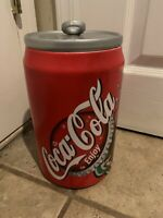 Tab Top Soda Can of Coca Cola Ceramic Cookie Jar 2001