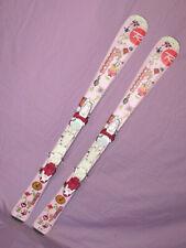 Rossignol FUN Girl kid's skis 120cm w/ Rossignol Xellium adjustable jr bindings~
