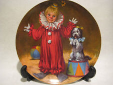 New In Box Reco Tommy The Clown By John Mc Clelland Bradex Plate, Hand Signed