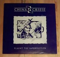China Crisis ‎– Flaunt The Imperfection Vinyl LP Album 33rpm 1985 Virgin ‎V2342