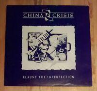 China Crisis – Flaunt The Imperfection Vinyl LP Album 33rpm 1985 Virgin V2342