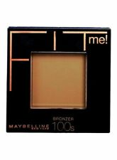 Maybelline Fit Me Pressed Powder Foundation | 100s Bronzer | Brand New | Sale |