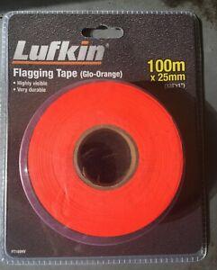 BRAND NEW Lufkin Flagging Tape (100m x 25mm)